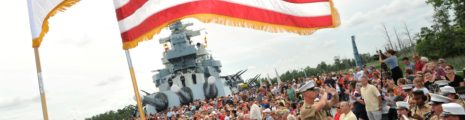 Battleship Celebrates Memorial Weekend