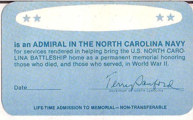Admiral in the NC Navy card low resolution