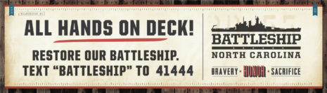 All Hands On Deck - Restore Our Battleship - Battleship North Carolina