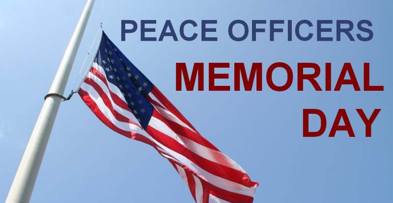 National Police Week Peace Officers Memorial Day Battleship Nc
