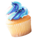 Apple Annie's Bake Shop Red, White and Blue Swirl Cupcake