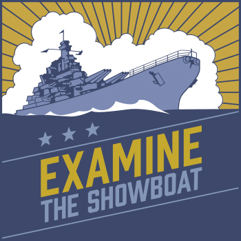 Examine the Showboat logo