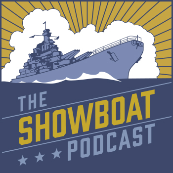 The Showboat Podcast logo